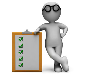 Checklist Clipboard Shows Test To Do List Or Questionnaire